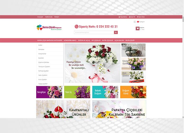 Bursa Çiçek Mağazası