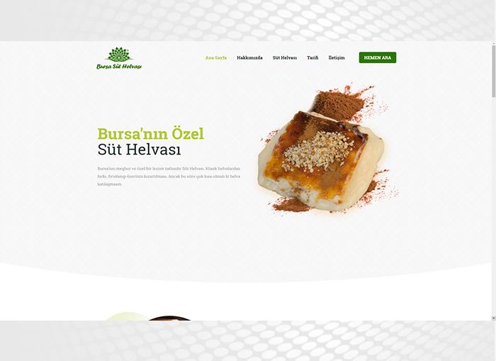 Bursa Süt Helvası